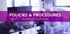 CMSVOC Policies and Procedures - Mandatory Legislation