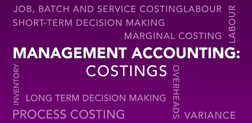 AAT Accountancy: Management Accounting – Costings