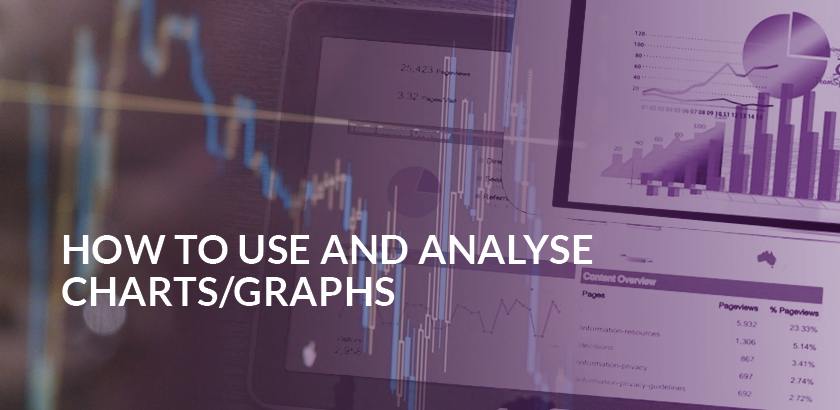 How to use and analyse charts and graphs
