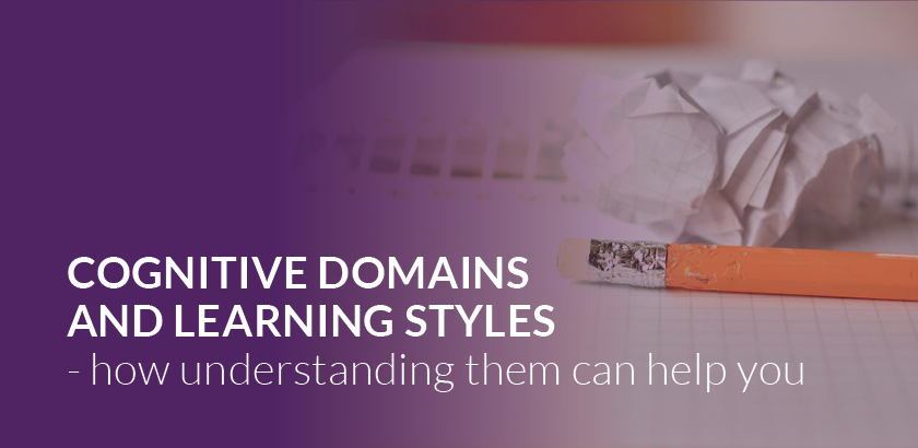 An introduction to cognitive domains and learning styles
