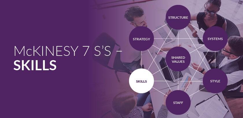 McKinsey's 7S Framework – Skills