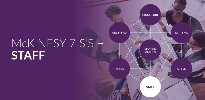 McKinsey's 7S Framework – Staff